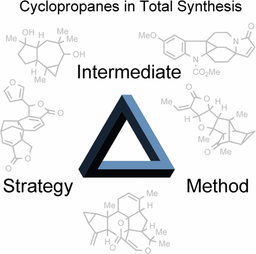 Cyclopropanes in Total Synthesis. C. Ebner, E.M. Carreira, Chem. Rev. 2017