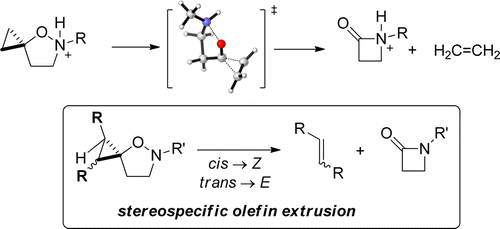 Mechanistic Insight into the Spirocyclopropane Isoxazolidine Ring Contraction.  S. Diethelm, F. Schoenebeck, E.M. Carreira, Org. Lett. 2014, 16, 960
