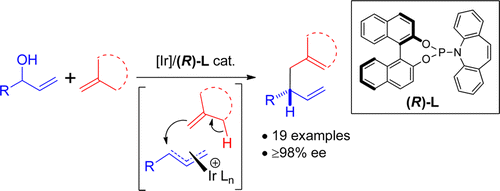 Iridium-Catalyzed Enantioselective Allyl–Alkene Coupling.  J.Y. Hamilton, D. Sarlah, E.M. Carreira, J. Am. Chem. Soc. 2014, 136, 3006